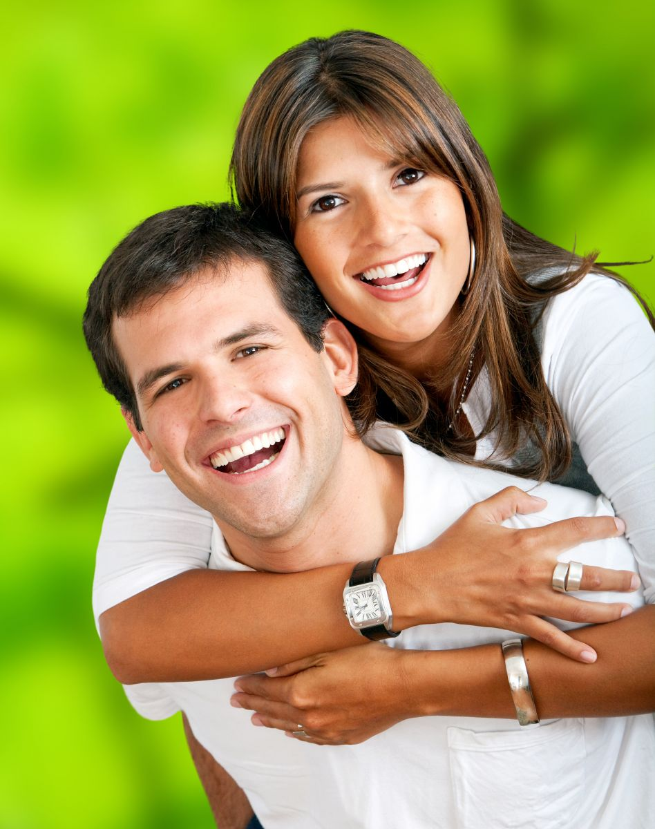 Tooth Colored Fillings Couple